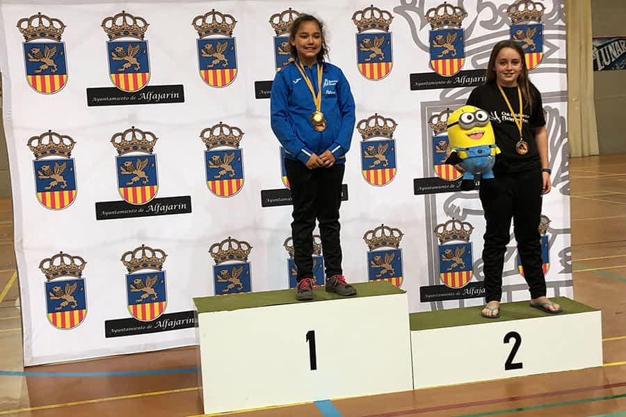 Buenos resultados del C.B. Belmecher en el Circuito Aragonés