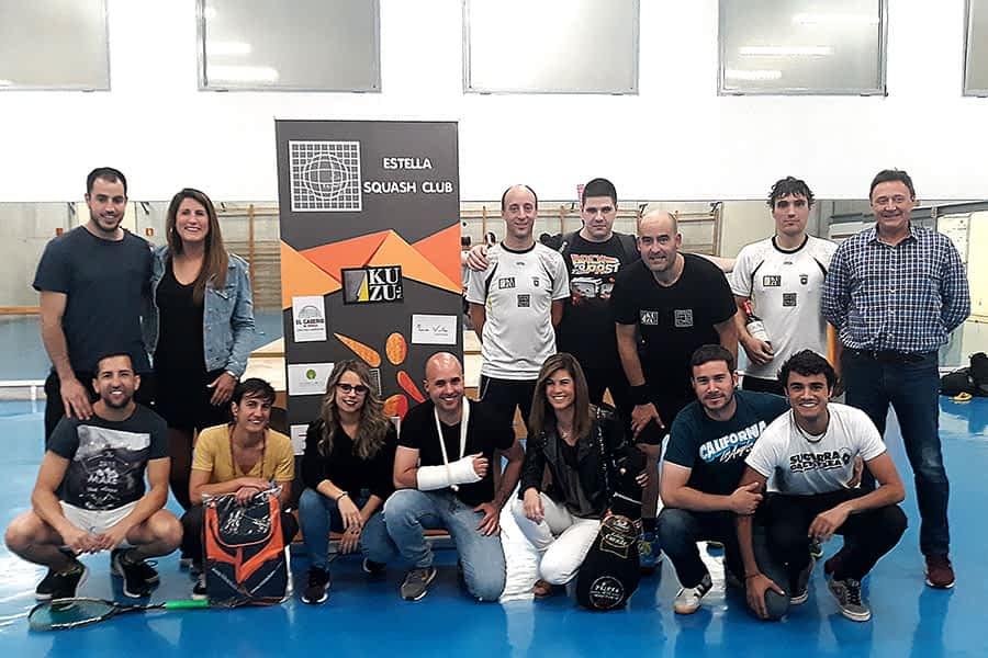El squash club de Estella celebró el campeonato fin de temporada