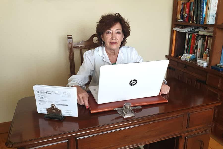 """PRIMER PLANO – Mª Luisa Hermoso de Mendoza Merino – """"Del García Orcoyen hay que valorar la buena atención y el trato cercano"""""""