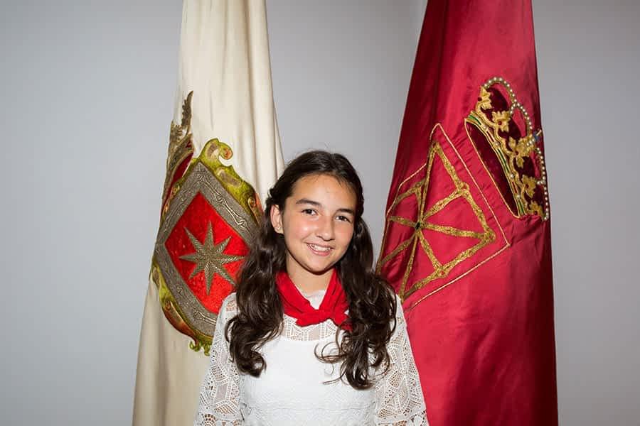 """ENTREVISTA. Lidia Pérez de Viñaspre. Alcaldesa Infantil """"Cuando sea mayor me gustaría presentarme como alcaldesa"""""""
