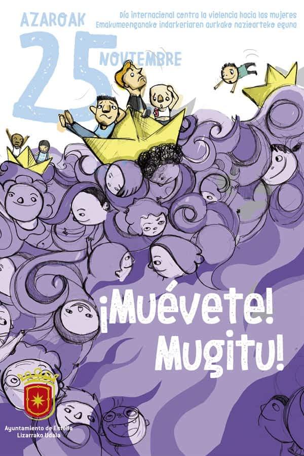 '¡Muévete!-Mugitu!', el nuevo lema del 25N que interpela a los hombres