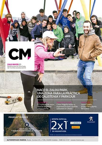 CALLE MAYOR 673 – NACE EL ZALDU PARK, UNA ZONA PARA LA PRÁCTICA DE CALISTENIA Y PARKOUR