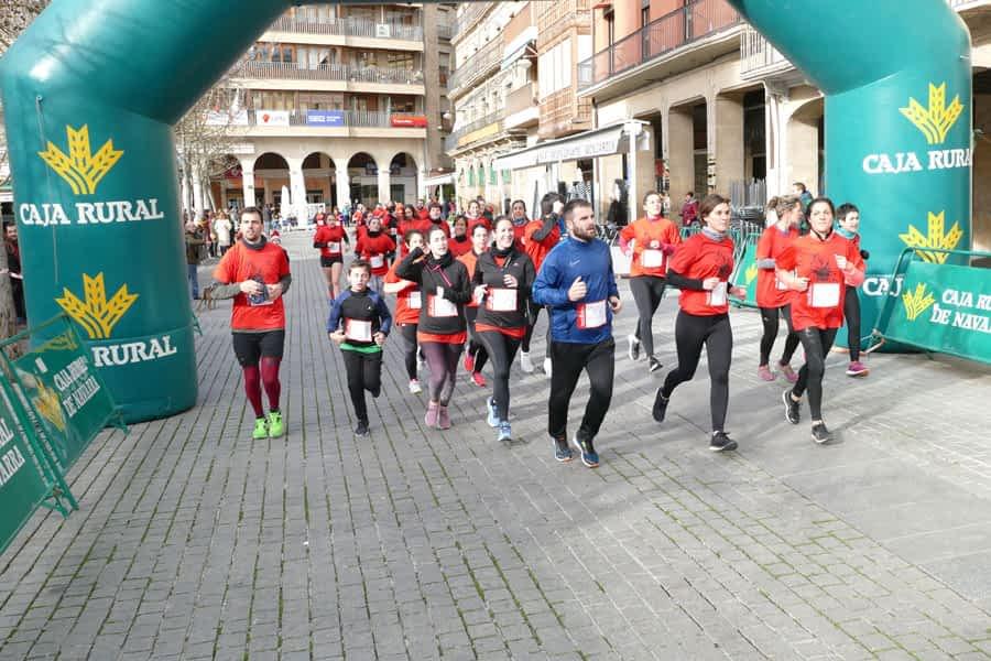 Los quintos del 92 reunieron a 302 corredores