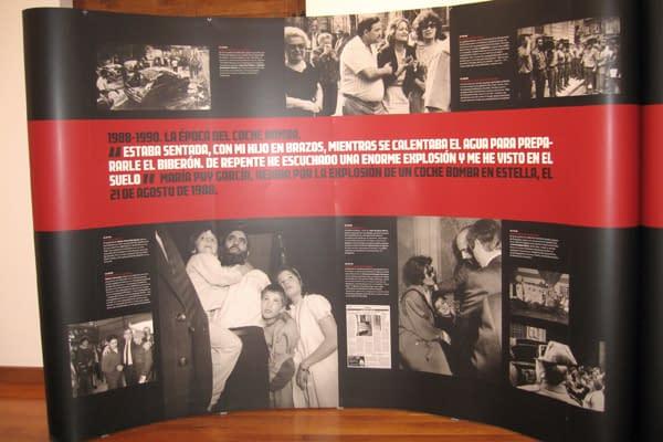 '40 días rojos' recorre en imágenes los asesinatos de ETA en Navarra