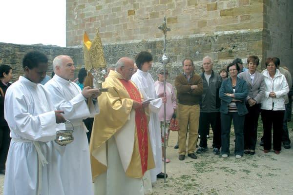 El monasterio de Irache recibió la reliquia de San Gregorio Ostiense