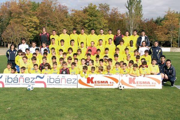 El club de Villatuerta crea este año una escuela de fútbol