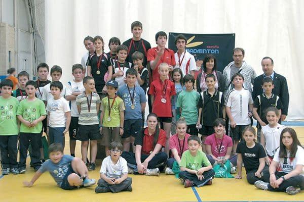 El bádminton estellés en los Juegos Deportivos de Navarra