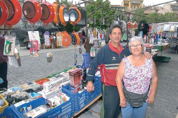Los últimos mercados de José Mari y Lucía