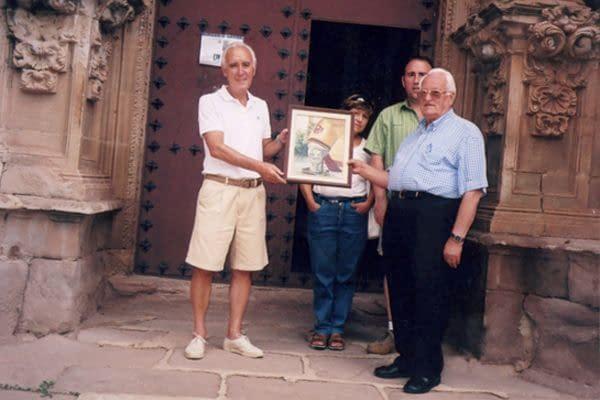 Un regalo a San Gregorio Ostiense
