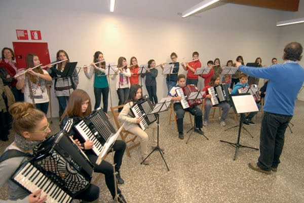 Celebración de Santa Cecilia en la nueva escuela de música