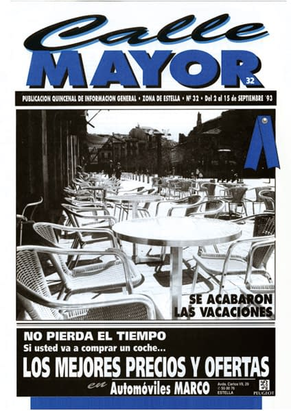 CALLE MAYOR 032 – SE ACABARON LAS VACACIONES