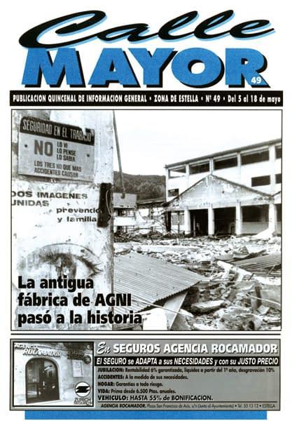 CALLE MAYOR 049 – LA ANTIGUA FÁBRICA DE AGNI PASÓ A LA HISTORIA