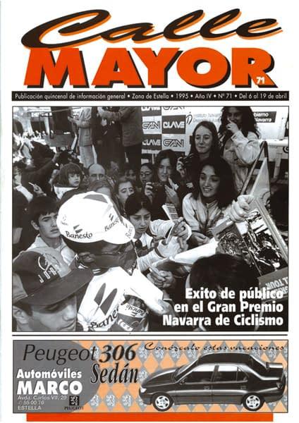 CALLE MAYOR 071 – ÉXITO DE PÚBLICO EN EL GRAN PREMIO NAVARRA DE CICLISMO