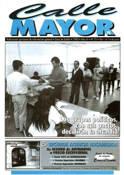 CALLE MAYOR 075 – LOS GRUPOS POLÍTICOS, CON SUS PACTOS, DECIDIRÁN LA ALCALDÍA
