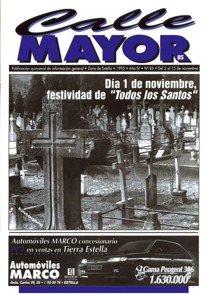 """CALLE MAYOR 085 – DÍA 1 DE NOVIEMBRE, FESTIVIDAD DE """"TODOS LOS SANTOS"""""""