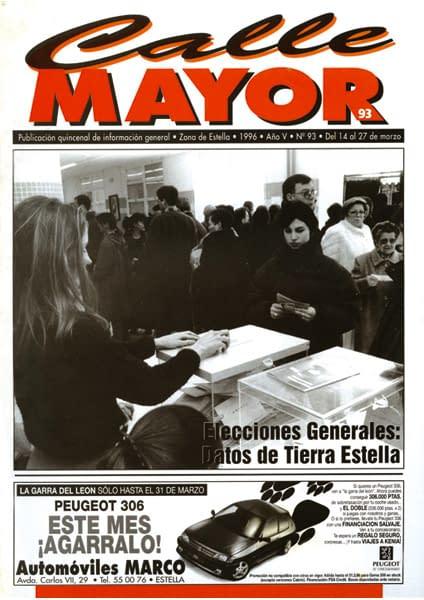 CALLE MAYOR 093 – ELECCIONES GENERALES: DATOS DE TIERRA ESTELLA