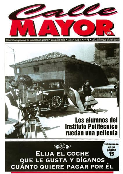 CALLE MAYOR 098 – LOS ALUMNOS DEL INSTITUTO POLITÉCNICO RUEDAN UNA PELÍCULA
