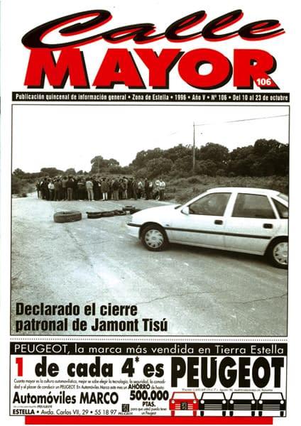 CALLE MAYOR 106 – DECLARADO EL CIERRE PATRONAL DE JAMONT TISÚ