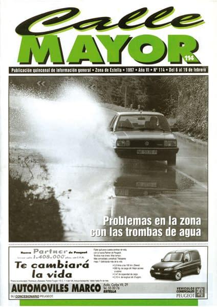 CALLE MAYOR 114 – PROBLEMAS EN LA ZONA CON LAS TROMBAS DE AGUA