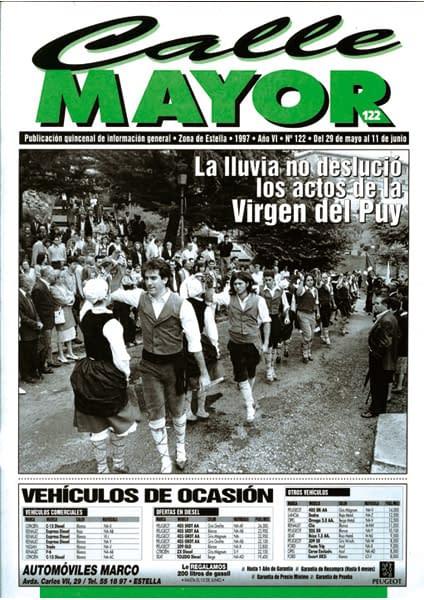 CALLE MAYOR 122 – LA LLUVIA NO DESLUCIÓ LOS ACTOS DE LA VIRGEN DEL PUY