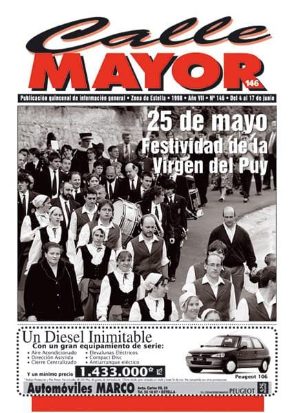CALLE MAYOR 146 – 25 DE MAYO. FESTIVIDAD DE LA VIRGEN DEL PUY