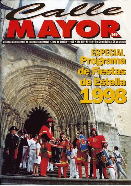 CALLE MAYOR 149 – ESPECIAL FIESTAS DE ESTELLA 1998