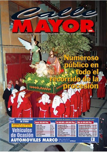 CALLE MAYOR 165 – NUMEROSO PÚBLICO EN TODO EL RECORRIDO DE LA PROCESIÓN
