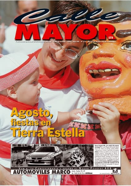 CALLE MAYOR 173 – AGOSTO, FIESTAS EN TIERRA ESTELLA