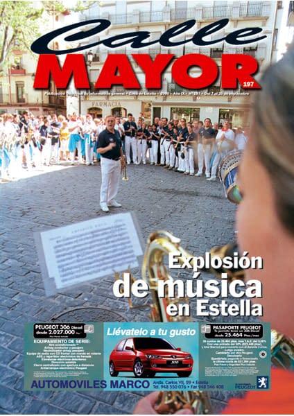 CALLE MAYOR 197 – EXPLOSIÓN DE MÚSICA EN ESTELLA