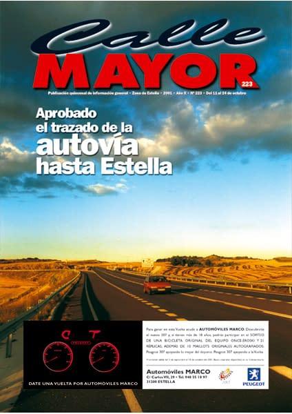 CALLE MAYOR 223 – APROBADO EL TRAZADO DE LA AUTOVÍA HASTA ESTELLA