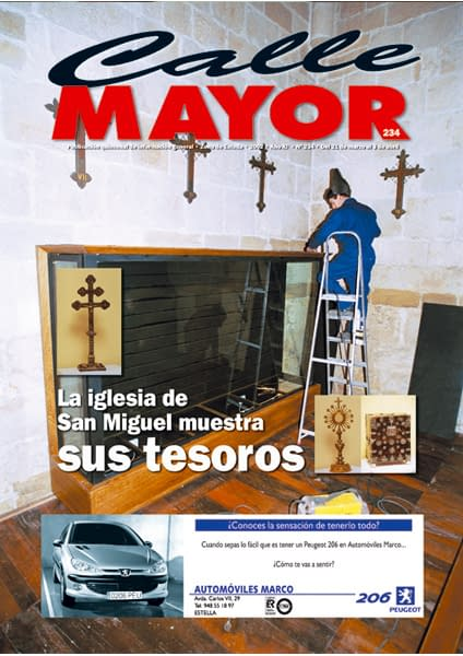 CALLE MAYOR 234 – LA IGLESIA DE SAN MIGUEL MUESTRA SUS TESOROS