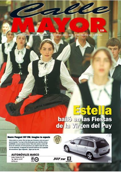 CALLE MAYOR 239 – ESTELLA BAILÓ EN LAS FIESTAS DE LA VIRGEN DEL PUY