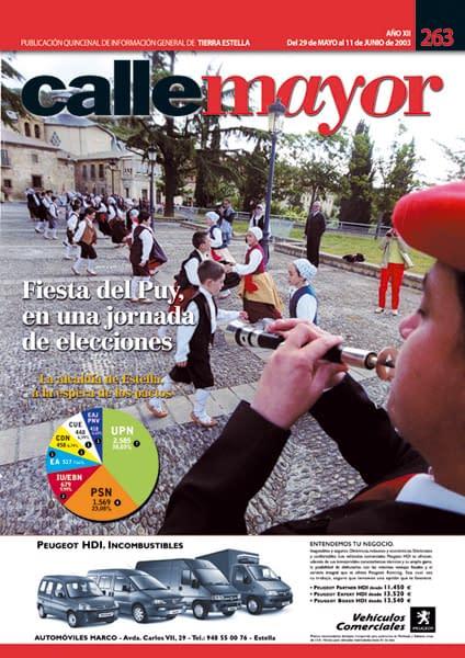 CALLE MAYOR 263 – FIESTA DEL PUY, EN UNA JORNADA DE ELECCIONES