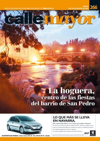 CALLE MAYOR 266 – LA HOGUERA, CENTRO DE LAS FIESTAS DEL BARRIO DE SAN PEDRO