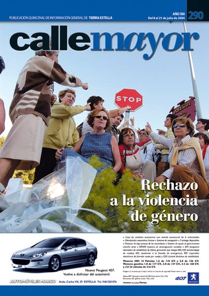 CALLE MAYOR 290 – RECHAZO A LA VIOLENCIA DE GÉNERO