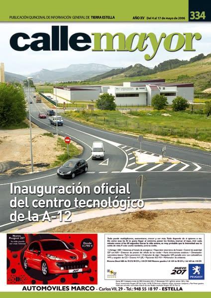 CALLE MAYOR 334 – INAUGURACIÓN OFICIAL DEL CENTRO TECNOLÓGICO DE LA A-12