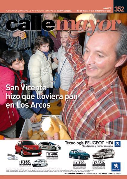 CALLE MAYOR 352 – SAN VICENTE HIZO QUE LLOVIERA PAN EN LOS ARCOS