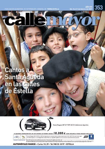 CALLE MAYOR 353 – CANTOS A SANTA ÁGUEDA EN LAS CALLES DE ESTELLA