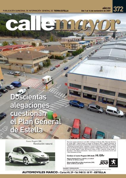 CALLE MAYOR 372 – DOSCIENTAS ALEGACIONES CUESTIONAN EL PLAN GENERAL DE ESTELLA