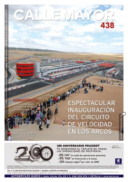 CALLE MAYOR 438 – ESPECTACULAR INAUGURACIÓN DEL CIRCUITO DE VELOCIDAD EN LOS ARCOS