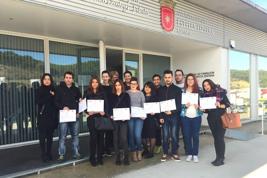 Primera promoción de la Escuela Taller con Certificado de Profesionalidad