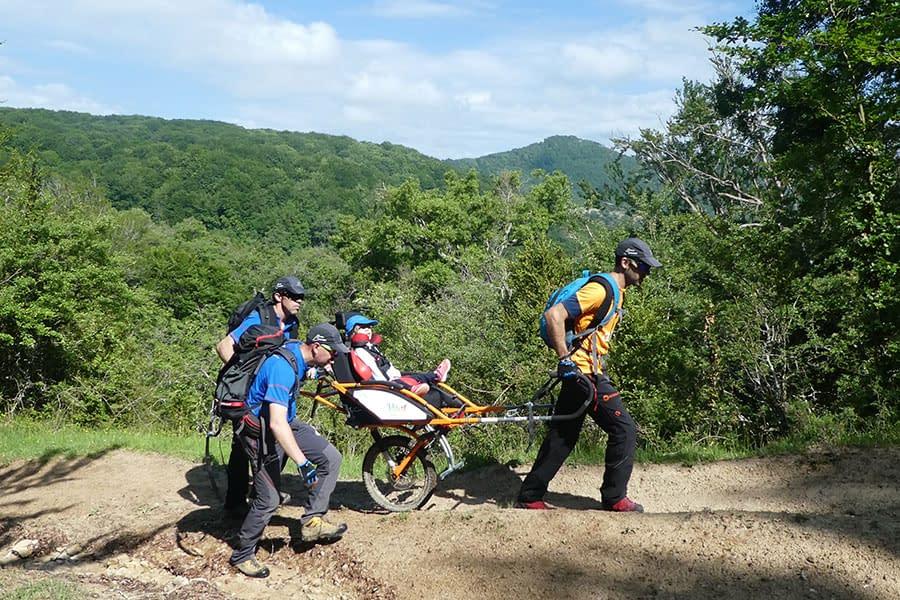 El club montañero de Estella celebró la Finalista