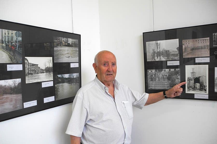 La vida de Estella del último siglo, expuesta en fotos