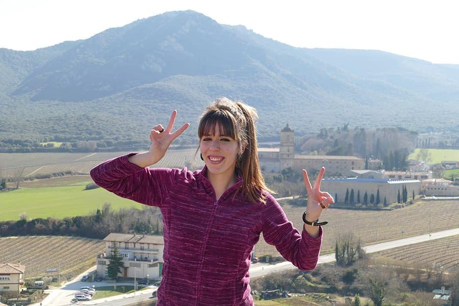 """ENTREVISTA – Anne Vidaurre – Consigue su reto en Montejurra – """"Al principio pensaba ¡cuánto me queda!, pero con el tiempo me veía más capaz"""""""