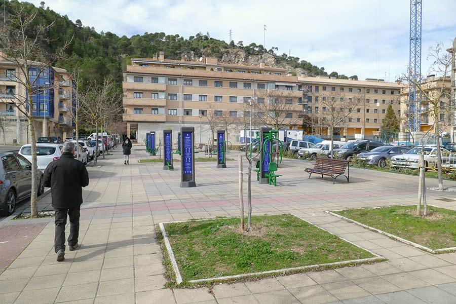 Nueva ubicación en el sector B del parque 'biosaludable'