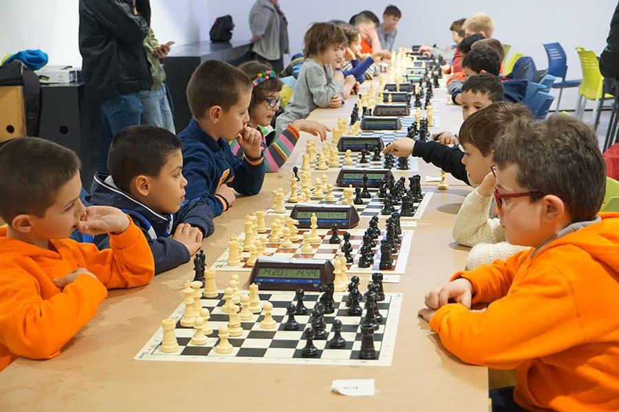 Jornada de ajedrez en Estella